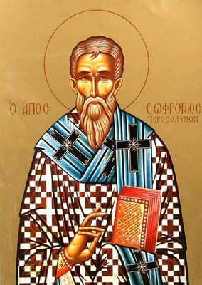 11 mars : Saint Sophrone de Jérusalem 11_march_sophronius_of_jerusalem