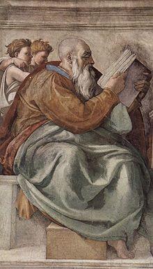 8 février Saint Zacharie Ancien Testament  220px-Michelangelo_Buonarroti_031