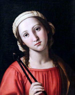 9 février : Sainte Apolline d'Alexandrie 27867974344_5af55352cc