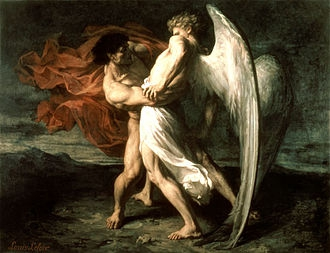 20 décembre : Saint Jacob  330px-Leloir_-_Jacob_Wrestling_with_the_Angel0