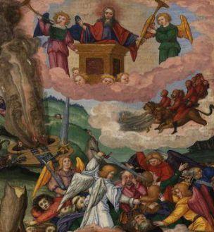 La Cité de Dieu de St Augustin et les Fins dernières  713px-Ottheinrich_Folio292r_Rev9