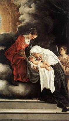 Saint du jour - Page 4 800px-Orazio_gentileschi_2C_Vision_of_St_Francesca_Romana