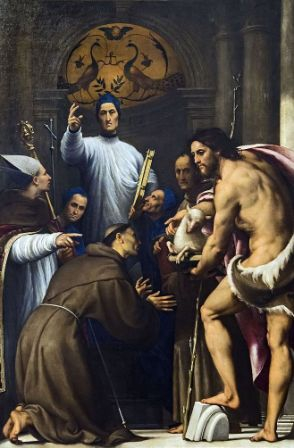 Saint du jour - Page 39 Accademia_-_Blessed_Giovanni_Giustiniani_and_Saints_by_Il_Pordenone