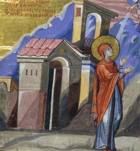 9 décembre : Sainte Anne (Hanna), mère du Prophète Samuel  Anne_BnF_Grec_139_fol__428v