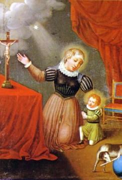 8 août :  Bienheureuse Jeanne d'Aza Beata_Juana_de_Aza_madre_de_Sto_Domingo_Guzman