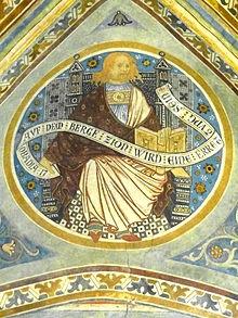 19 novembre : Saint Abdias Prophète Bergen_Marienkirche_-_Fresko_Propheten_3a