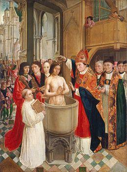 15 janvier : Saint Rémi Chlodwigs_taufe