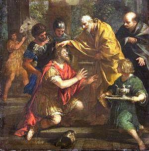 25 janvier Saint Ananie de Damas  Ciro_Ferri_004