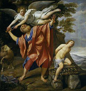 Saint du jour - Page 2 El_sacrificio_de_Isaac__28Domenichino_29