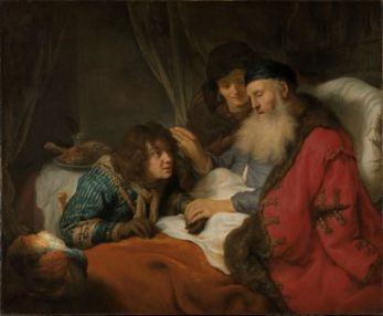 20 décembre : Saint Isaac Isaak_zegent_Jakob_Rijksmuseum_SK-A-110_jpeg