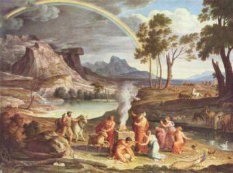 10 novembre : Saint Noé Patriarche Joseph_Anton_Koch_006
