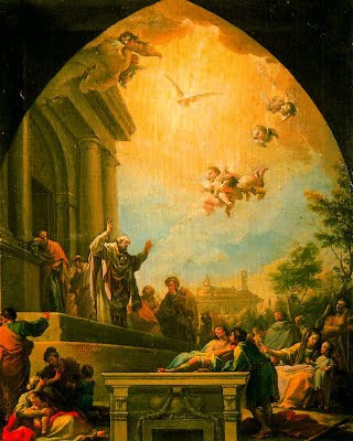 13 novembre Saint Eugène de Tolède  LapredicaciondeSanEugenio