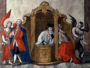 Lorsque la confession recule, l'activité démoniaque augmente Martignoni-CONTRACEPTION