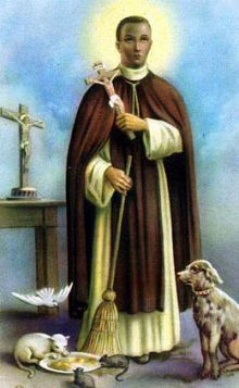 3 novembre Saint Martin de Porrès  Martin-de-porres