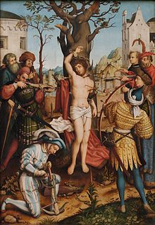 Saint du jour - Page 25 Martyrium_Des_Hl__Sebastian__28Detail_29_Hans_Holbein