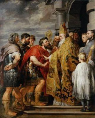 7 décembre Saint Ambroise de Milan  Peter_Paul_Rubens_139