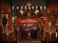 Saint du jour - Page 19 Relics_of_St__Sabbas_the_Sanctified_in_the_Mar_Saba_monastery_in_Palestine