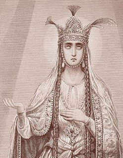 12 septembre Sainte Ketevan de Georgie Sabinin__M__Queen_Ketevan