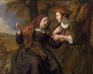 24 décembre : Sainte Noémie (Ancien Testament) Victors_Ruth_swearing_her_allegiance_to_Naomi