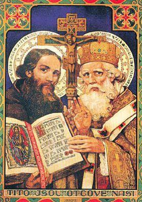 14 février Saints Cyrille et Méthode  Cyril_metodej4