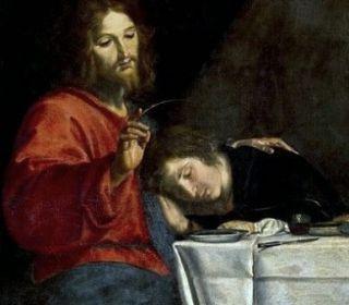 27 décembre : Saint Jean Apôtre et Evangéliste La_20cene_20saint_20jean_20titre