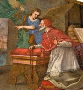 13 octobre 1884 : la vision du Pape Léon XIII Saint_20michel