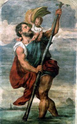 25 juillet saint Christophe de Lycie SanCristobalTizianoVenecia0