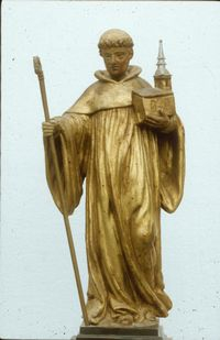 8 mai Saint Pierre de Tarentaise Statue-bois-spt