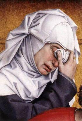 3 août : Sainte Salomé (Nouveau Testament) Weyden-deposition-detail3